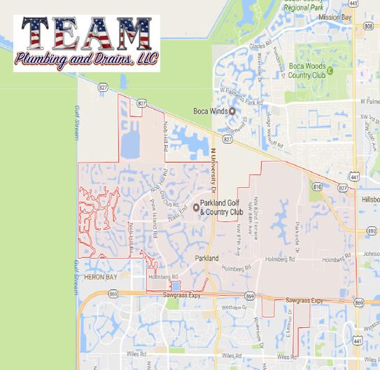 parkland plumber team plumbing and drains llc